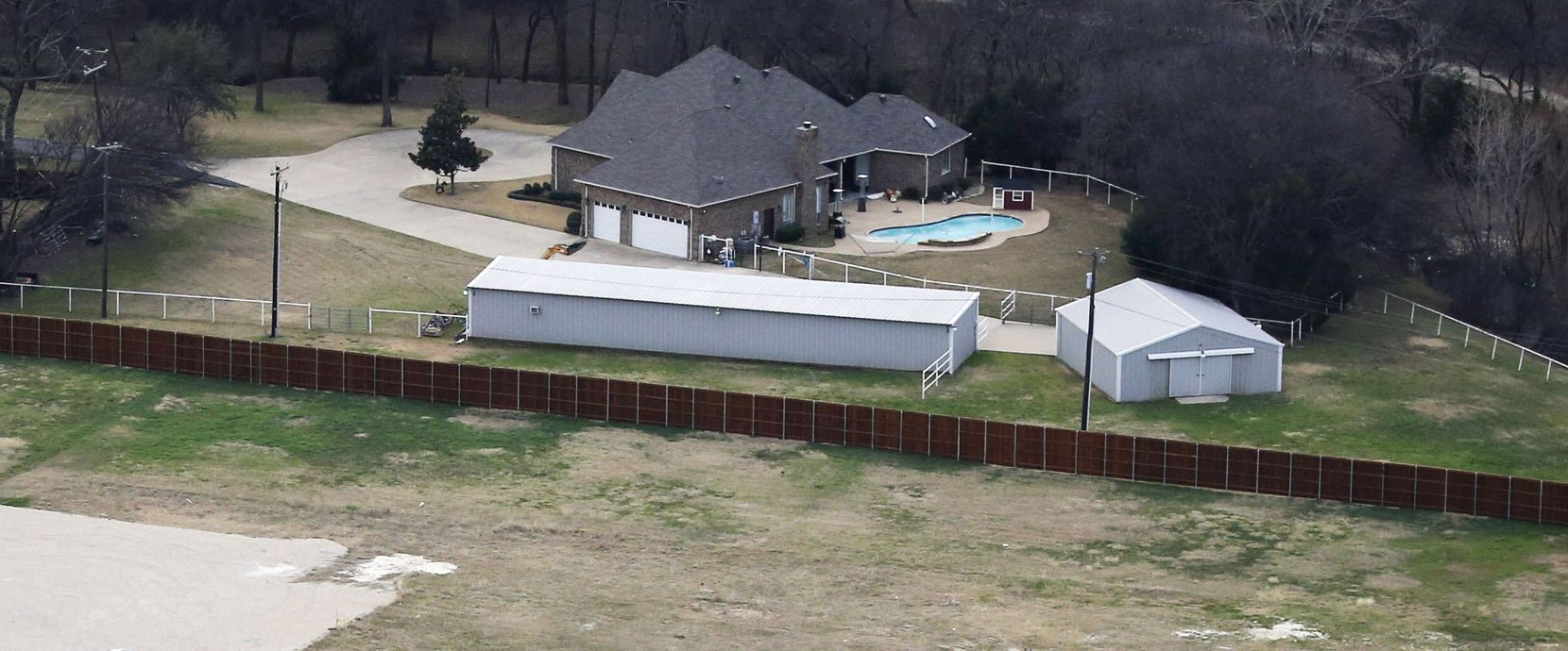 The home of Grand Prairie ISD Superintendent Susan Simpson Hull in Grand Prairie on Thursday, February 2, 2017. GPISD is one of the school districts that provide housing for their superintendents. (Vernon Bryant/The Dallas Morning News)