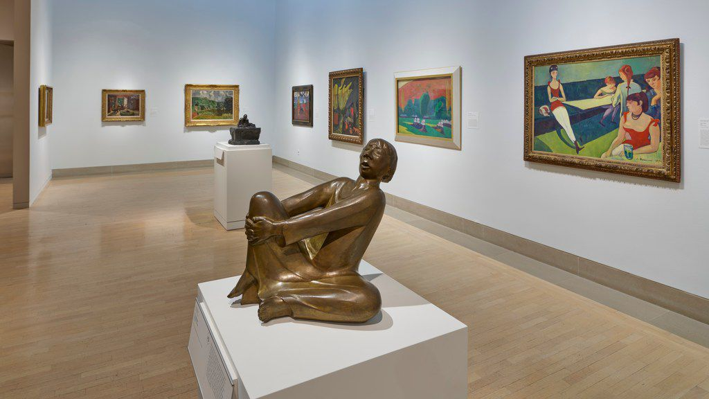 The Dallas Museum of Art has reinstalled its European galleries after a summer makeover.