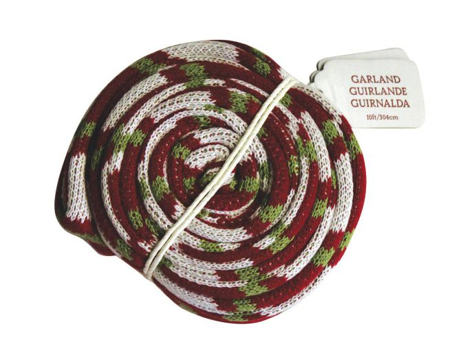 Tree scarf at Crate and Barrel by Bee Things. $29.96 at crateandbarrel.com.
