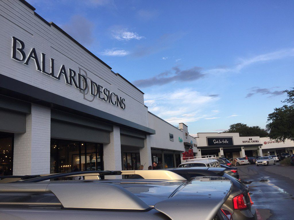 Atlanta-based home furnishings retailer Ballard Designs opened its first Dallas store on Sept. 5, 2018. The 12,000-square-foot store is in Preston Royal Village which has gone through a renovation in the past 18 months. Other new tenants include Sur La Table, Eatzi's, Sephora and Paper Source.