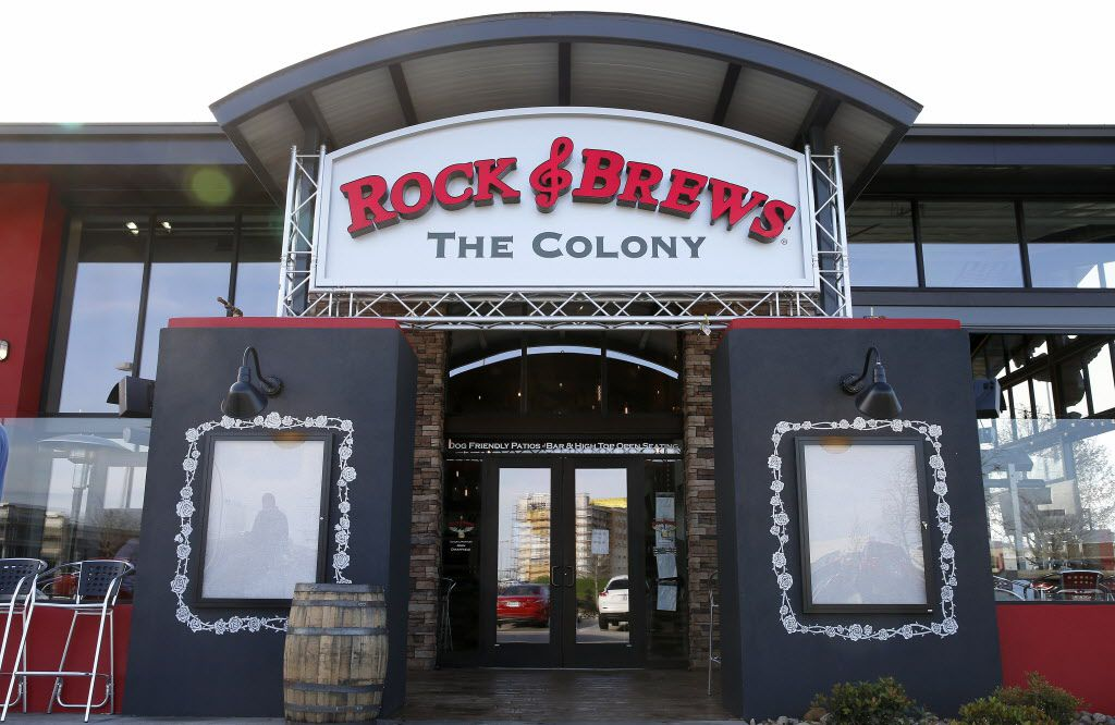 An entrance of Rock & Brews in The Colony, Texas, Tuesday, March 8, 2016. (Jae S. Lee/The Dallas Morning News)