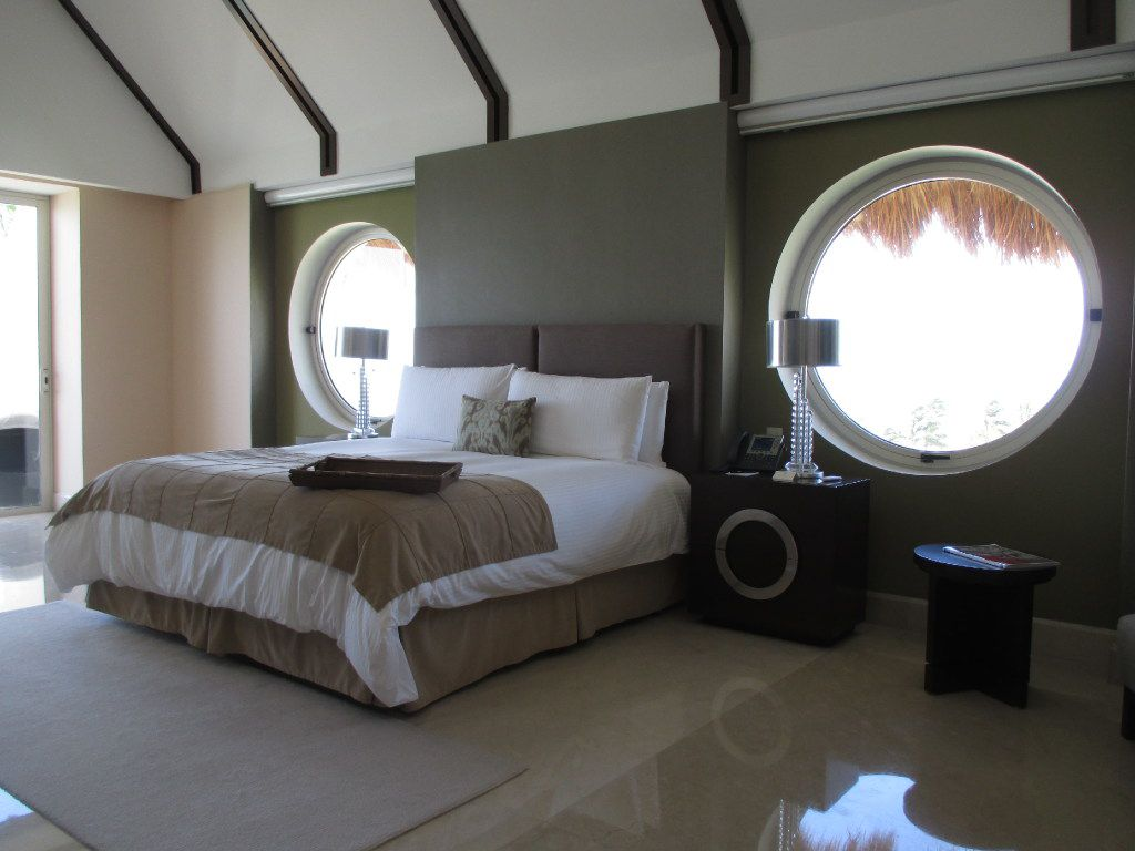 All of the guest rooms are luxury suites exceeding 1,100 square feet at the Grand Velas Riviera Maya.
