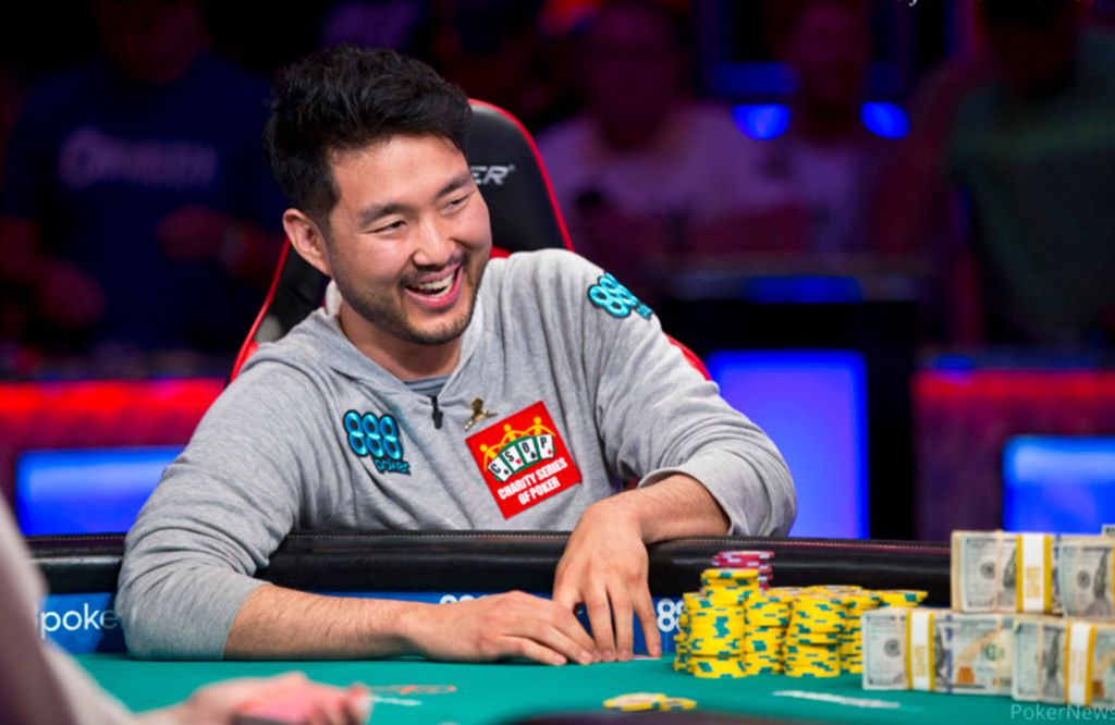 "Last year's World Series of Poker ""No-limit Hold'em"" world champion, John Cynn, won an $8.8 million jackpot."