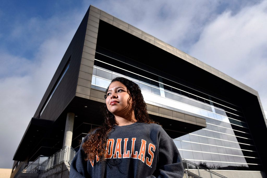 Students like Angelica Sanjuan Bermudez, studying biomedical engineering, have made the University of Texas at Dallas a top research school that gets an extra $7.5 million from the state.