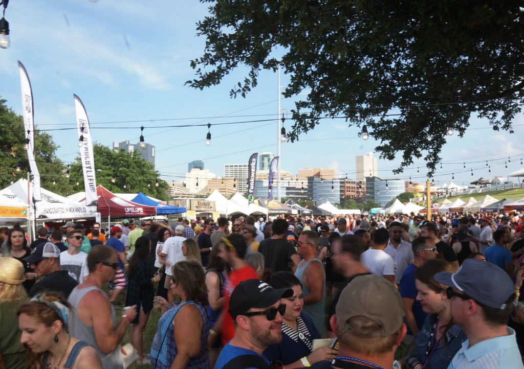 Thousands came out to the Untapped Music & Beer Festival at Panther Island in Fort Worth, Texas on Saturday, June 11, 2016. Brewers and bands from all over the country participated.