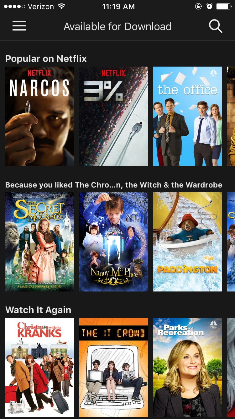 How to download Netflix movies and shows to your phone or