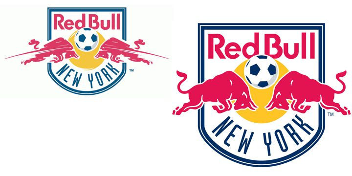 Red Bull New York logos
