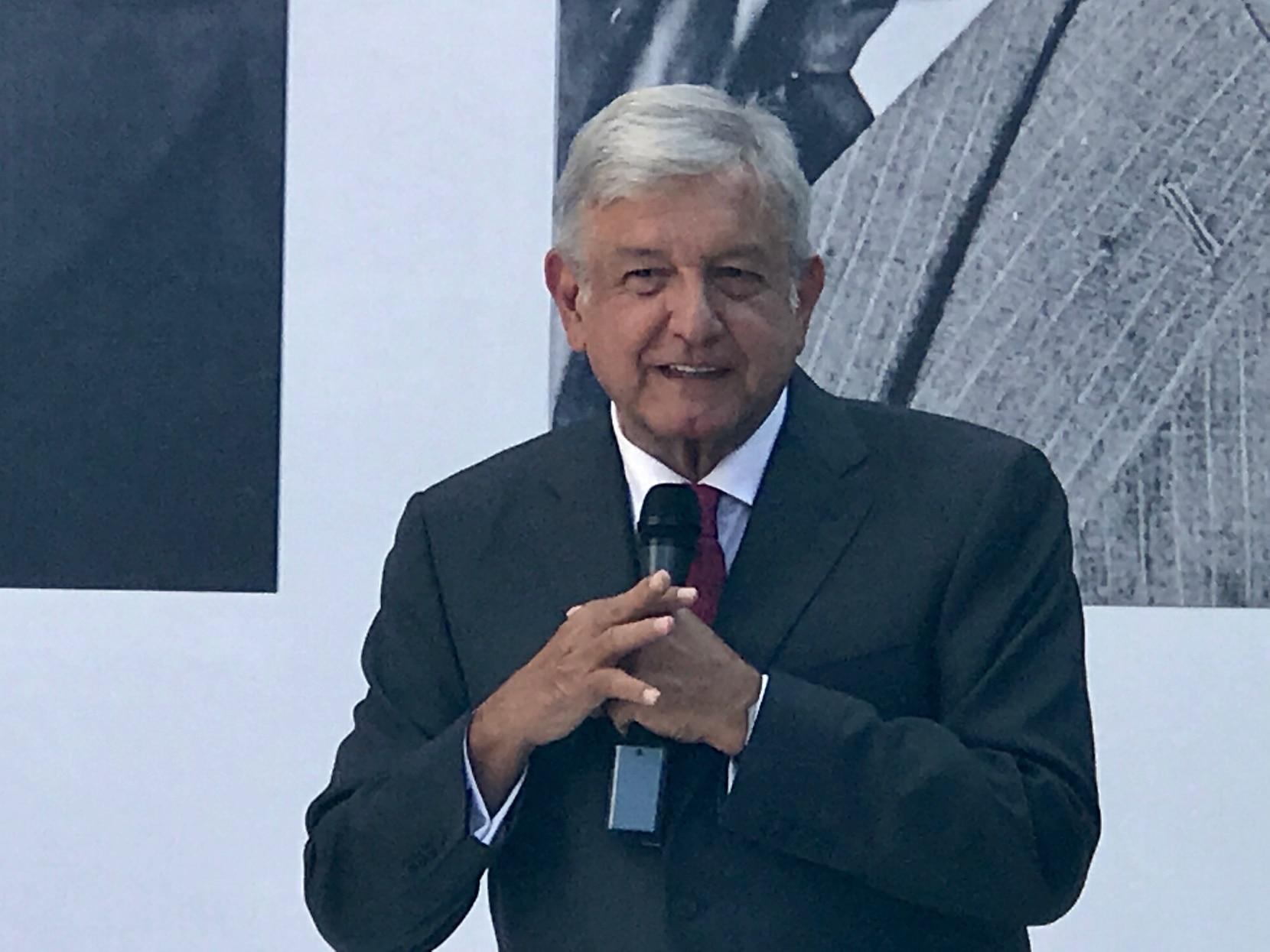 President-elect Amdres Manuel Lopez Obrador takes office Saturday..