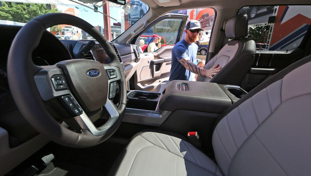Buyers are increasingly outfitting their pickups with all the comforts of luxury cars, from heated and cooled seats to backup cameras to panoramic glass roofs.