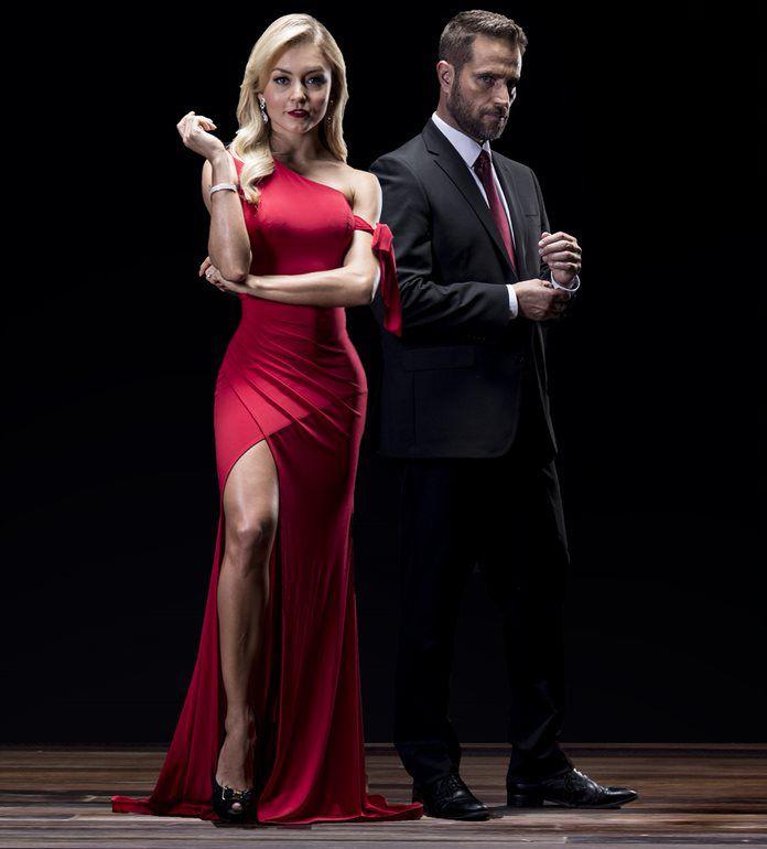 Angelique Boyer y Michel Brown. Univision