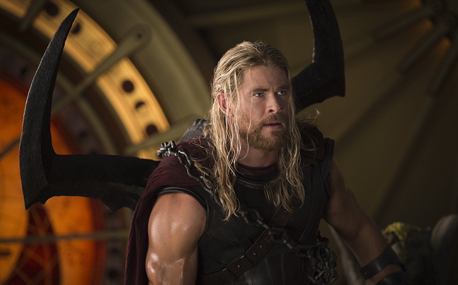 Chris Hemsworth protagoniza Thor: Ragnarok, que se estrena este viernes. Foto MARVEL