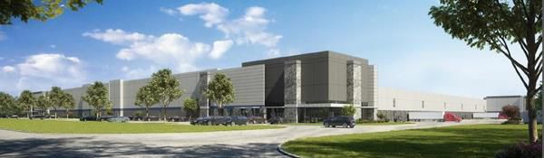 Construction began this week on a massive logistics center in Grand Prairie.