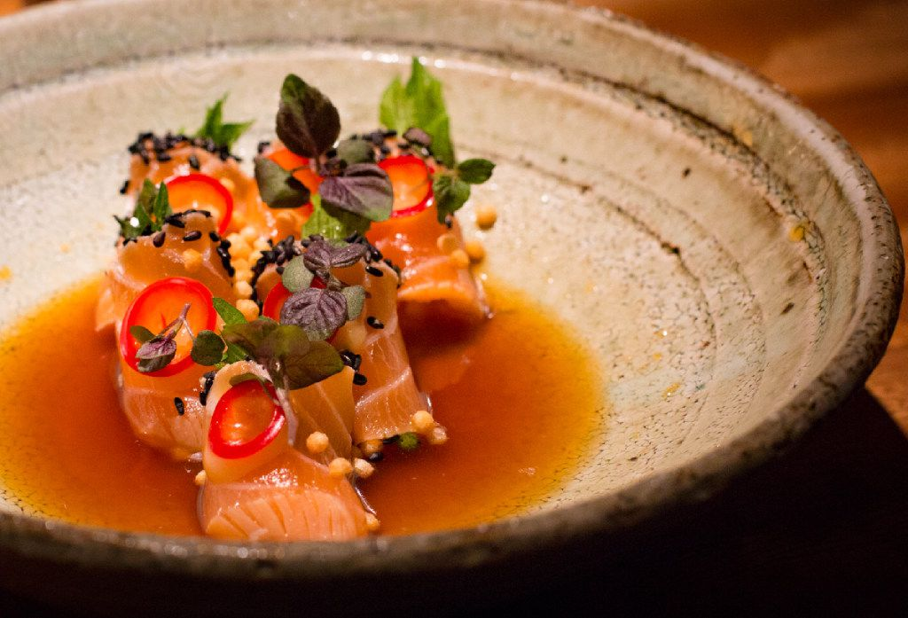 Zuma is known for its creative and colorful sushi creations.