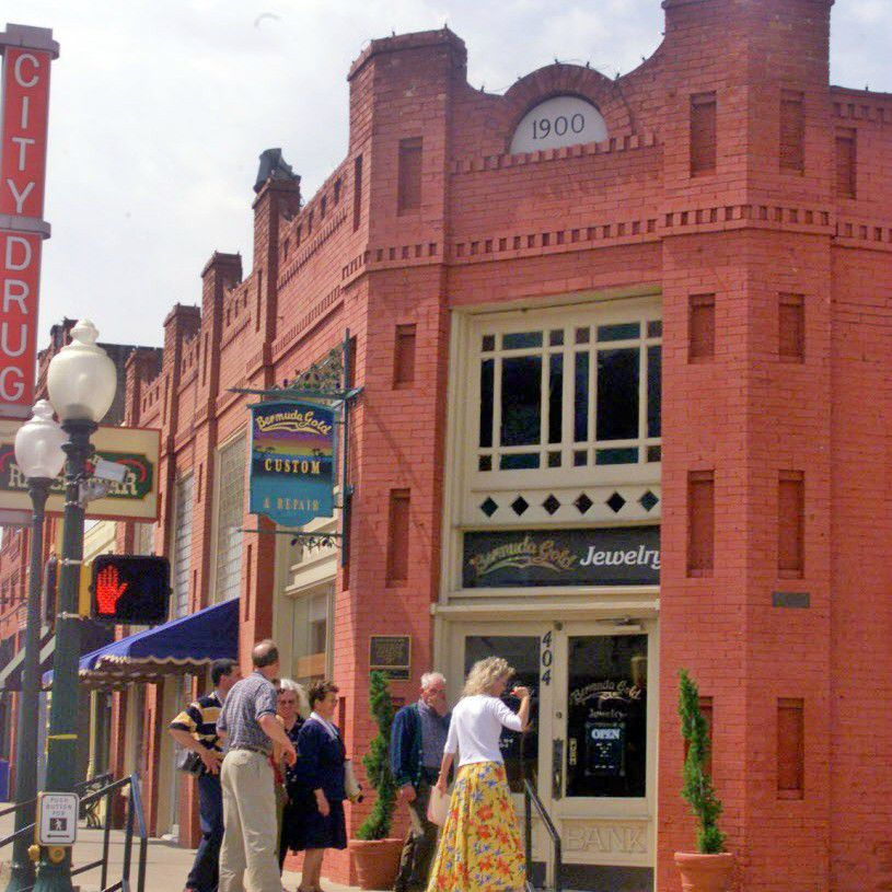 Grapevine's historic Main Street