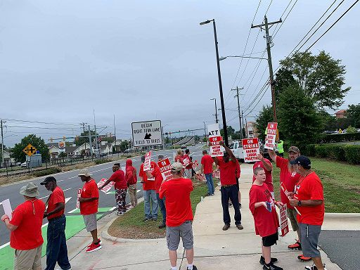 Striking AT&T workers include technicians, customer service representatives and others who maintain and develop AT&T's residential and business network throughout the South, according to the CWA.