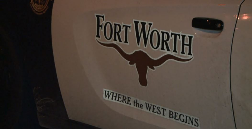 As Fort Worth officers arrested murder suspect, victim's son