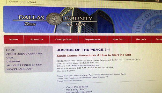 Uno de los recursos de los compradores insatisfechos es entablar una demanda legal. (Condado de Dallas/CORTESÍA)