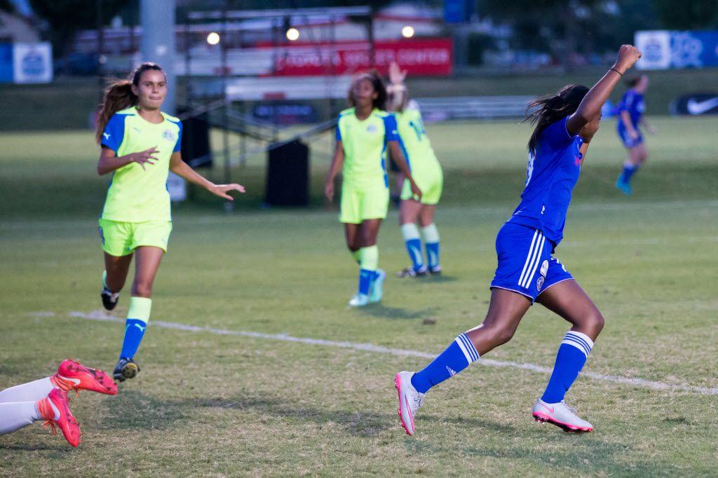 Shelton's Trinity Byars, a mainstay on U S  soccer national