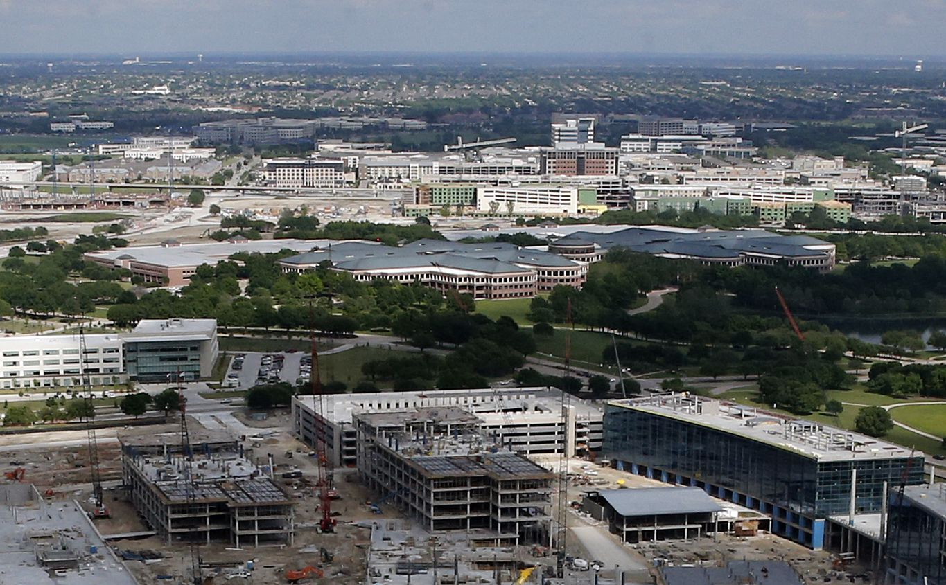 The Legacy and Frisco office markets are renting at a premium to other suburban locations.
