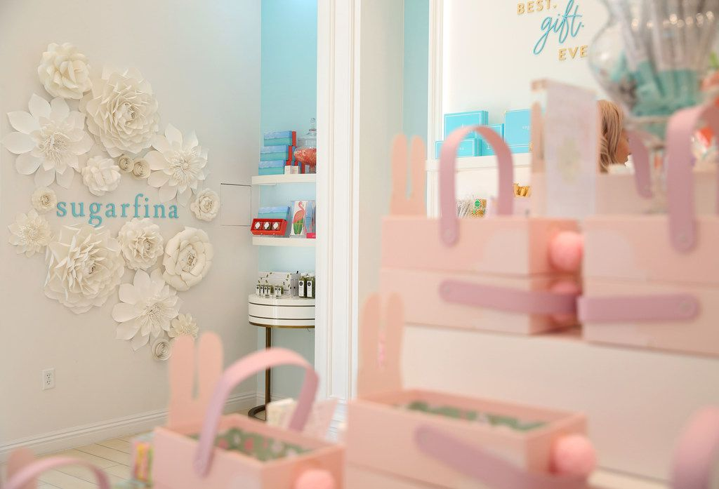 Interior of Sugarfina at Legacy West in Plano.