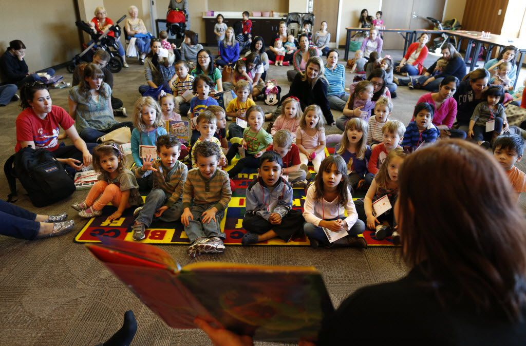 An abundance of kid-friendly offerings, including story time and craft sessions at the John and Judy Gay Library, helps make McKinney attractive to families. (2015 File Photo/Vernon Bryant)
