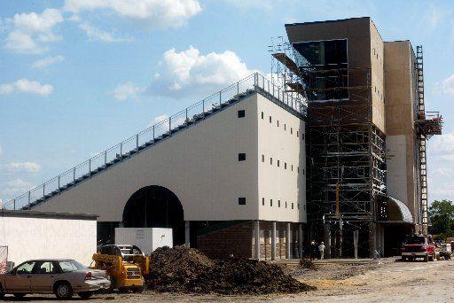 Mesquite High School's Hanby Stadium Friday, August 23, 2002.
