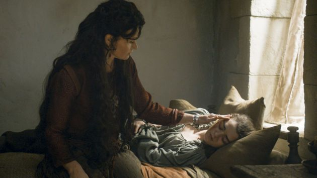 I absolutely loved the scenes these two had. It was nice to see someone actually care for Arya, for once.