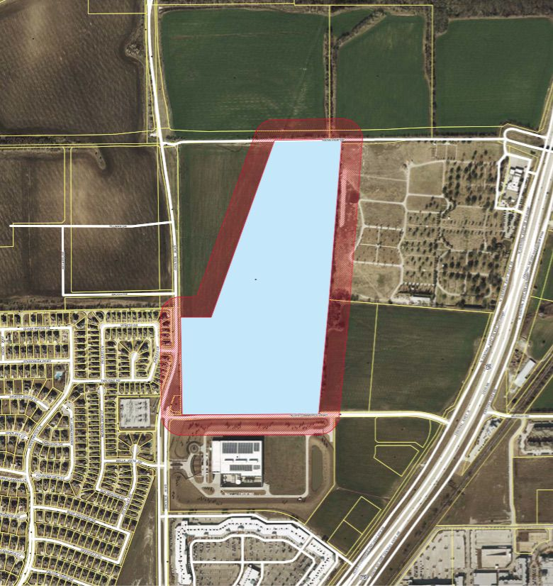 The 66-acre data center campus would be just west of U.S. 75 in Allen.