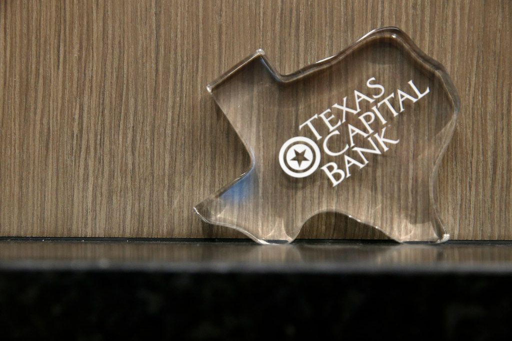 A paperweight of THE Texas Capital Bank branch on Singleton Boulevard. The bank named John Turpen chief risk officer.