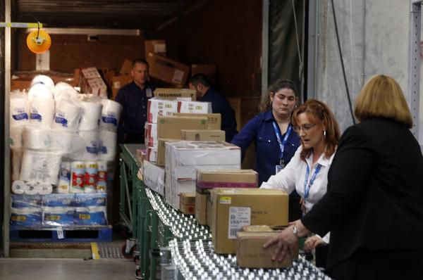 A station to train workers to unload merchandise from trucks is included at Wal-Mart's new Talent Center in Irving. The facility will handle all hiring and training for four key entry-level positions at 120 Supercenters and Neighborhood Markets in the Dallas-Fort Worth area.