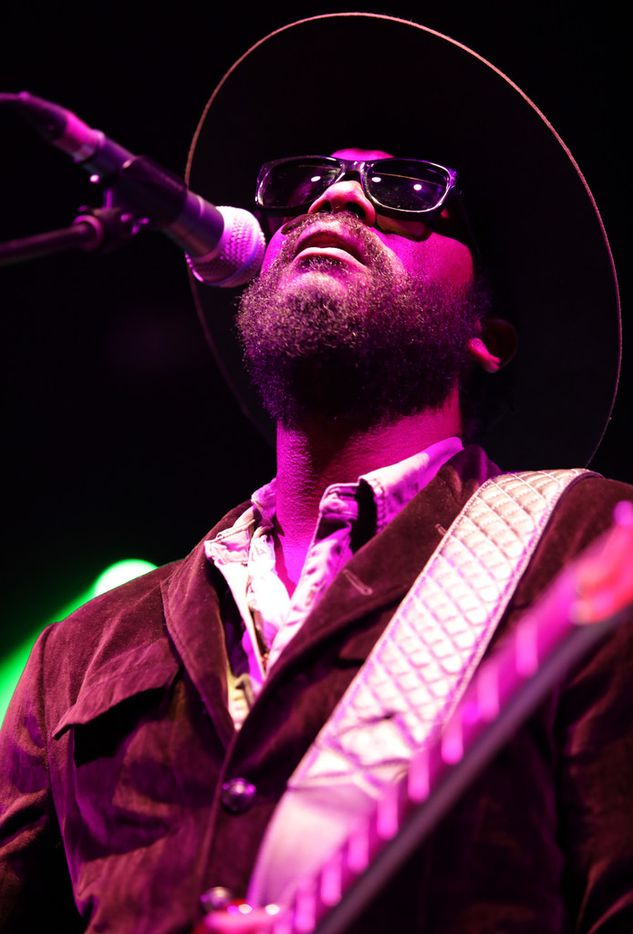 Gary Clark, Jr. performs at Toyota Music Factory in Las Colinas, TX, on Dec. 1, 2018. (Jason Janik/Special Contributor)