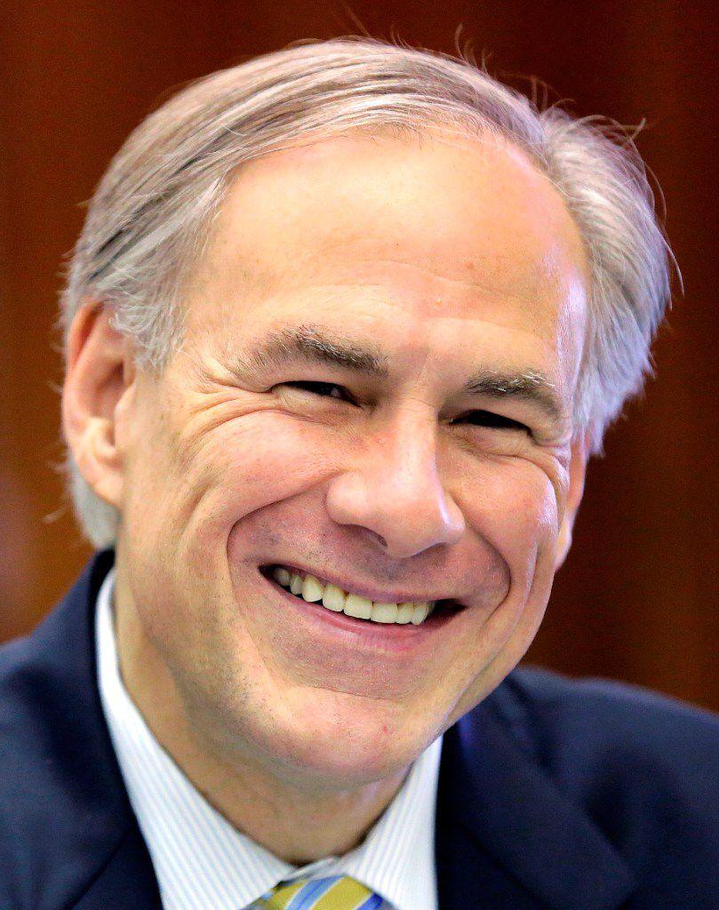 Texas Gov. Greg Abbott  (File Photo/The Associated Press)