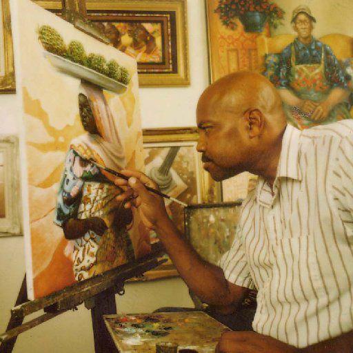 Arthello Beck Jr. at work