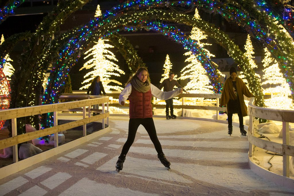Cool spots for holiday ice skating in Dallas-Fort Worth