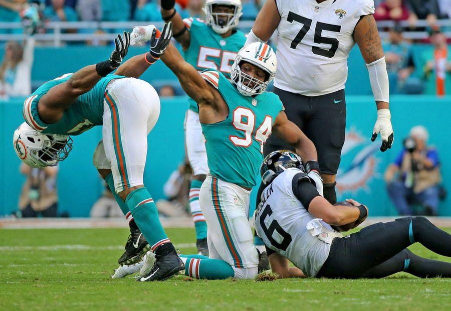 Robert Quinn pasa de los Dolphins de Miami a los Dallas Cowboys. Foto TNS/Miami Herald