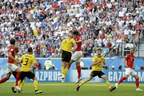 Bélgica terminó en tercer lugar del Mundial de Francia tras vencer 2 a 0 a Inglaterra. Foto AP