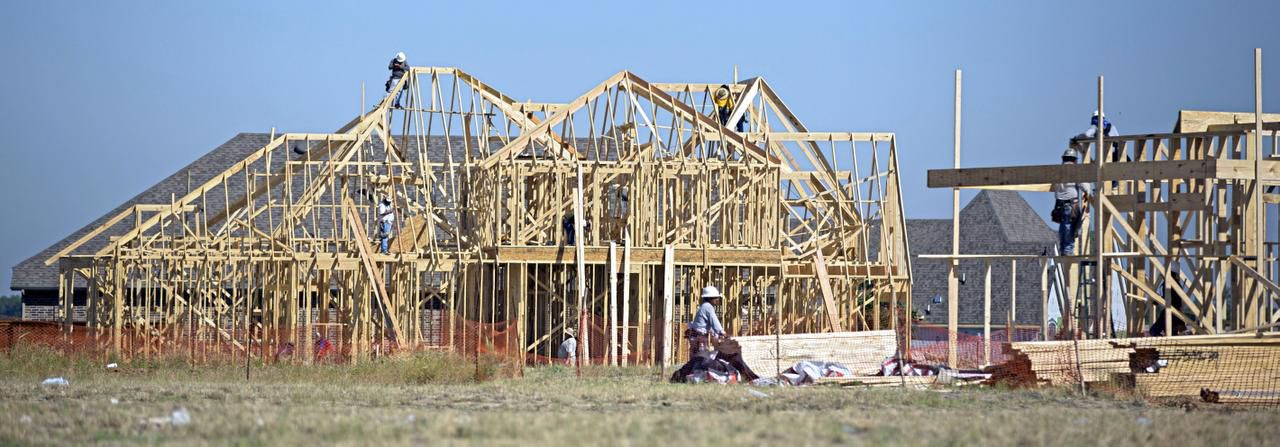 Highland's reputation with buyers has put the builder at the head of the line for construction sites in almost all of the area's latest communities. It's building this house in the Windsong Ranch development in Prosper.