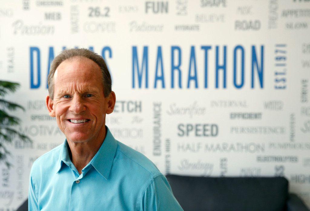 Paul Lambert, president of the BMW Dallas Marathon.
