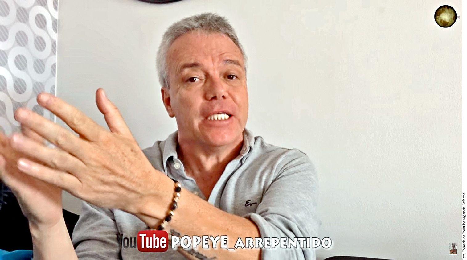 """John Jairo Velásquez (foto), conocido como """"Popeye"""", fue uno de los sicarios favoritos de Pablo Escobar y confesó haber participado en más de 3 mil asesinatos. Tras cumplir una condena de 23 años, """"Popeye"""" goza de una creciente fama como youtuber./AGENCIA REFORMA"""