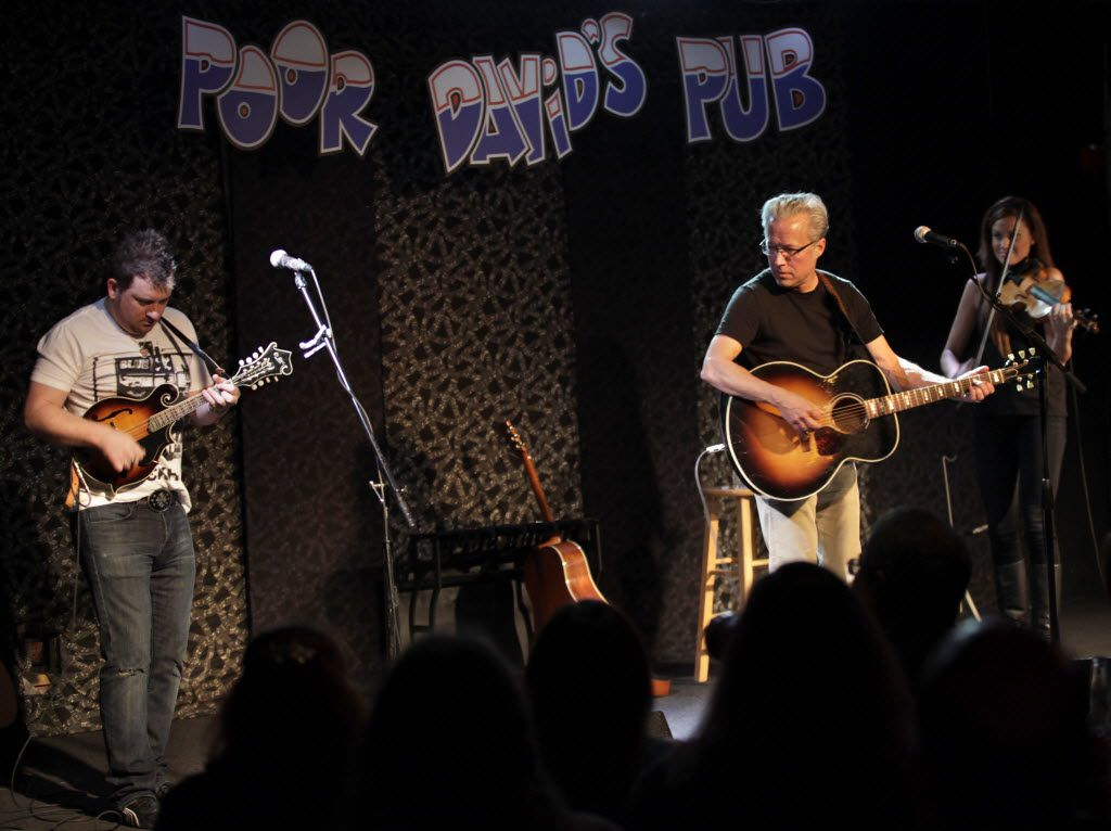 Radney Foster performed at Poor David's Pub, which celebrated its 40th anniversary in March of 2017.