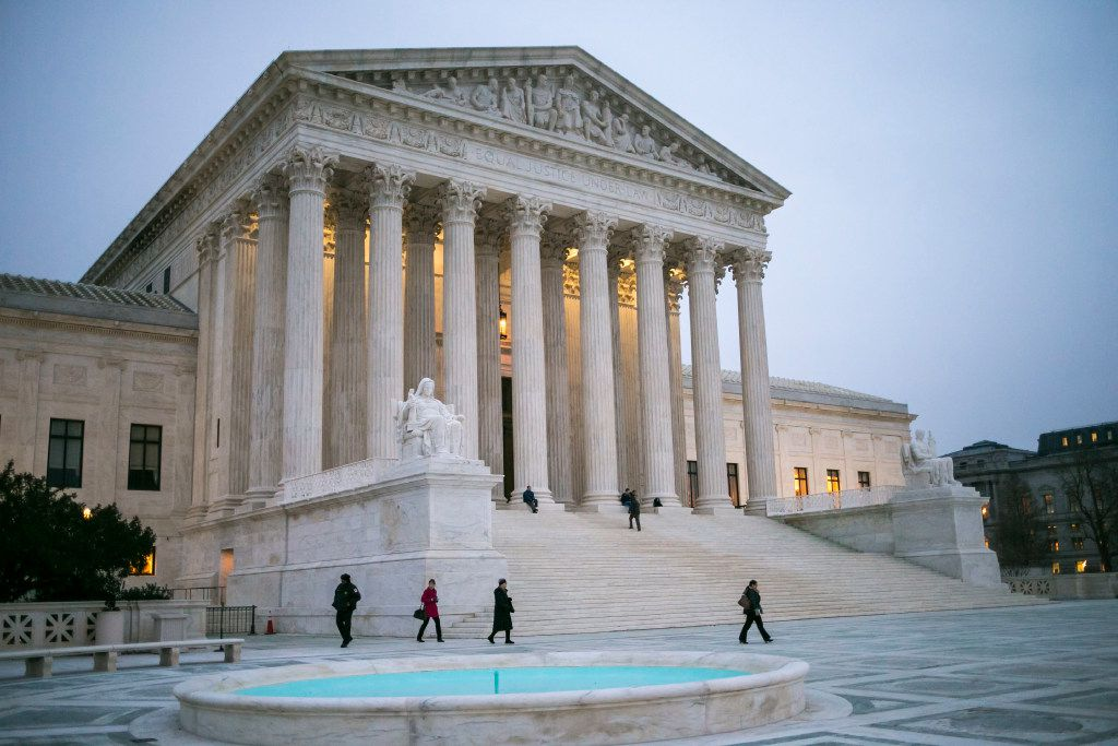 On Tuesday, the Supreme Court rejected Texas' method for evaluating intellectual disabilities in death row inmates. (Al Drago/The New York Times)