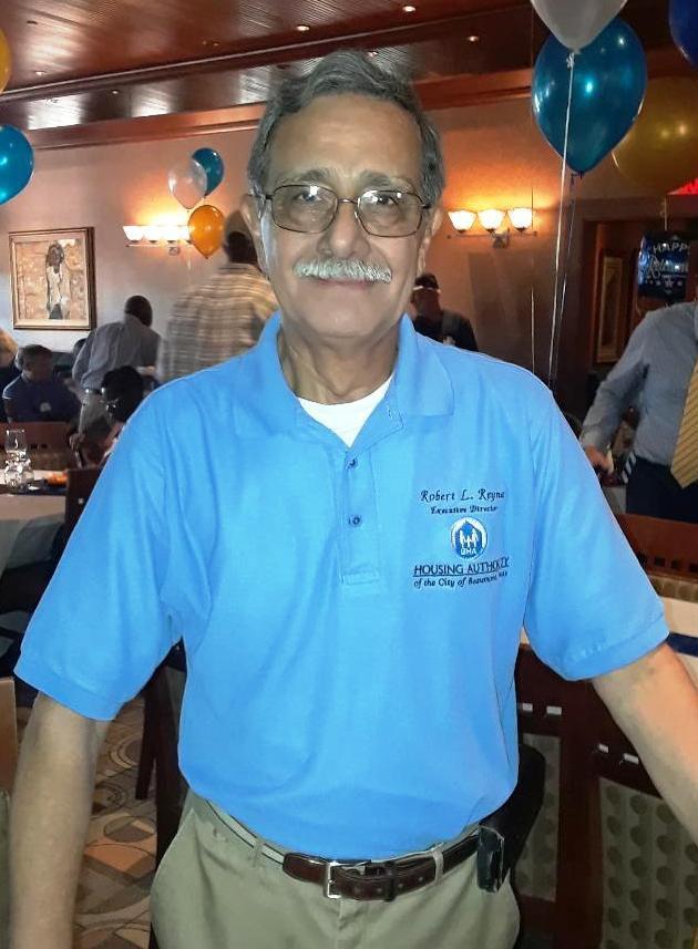 Robert Reyna, retiring director of the Beaumont Housing Authority
