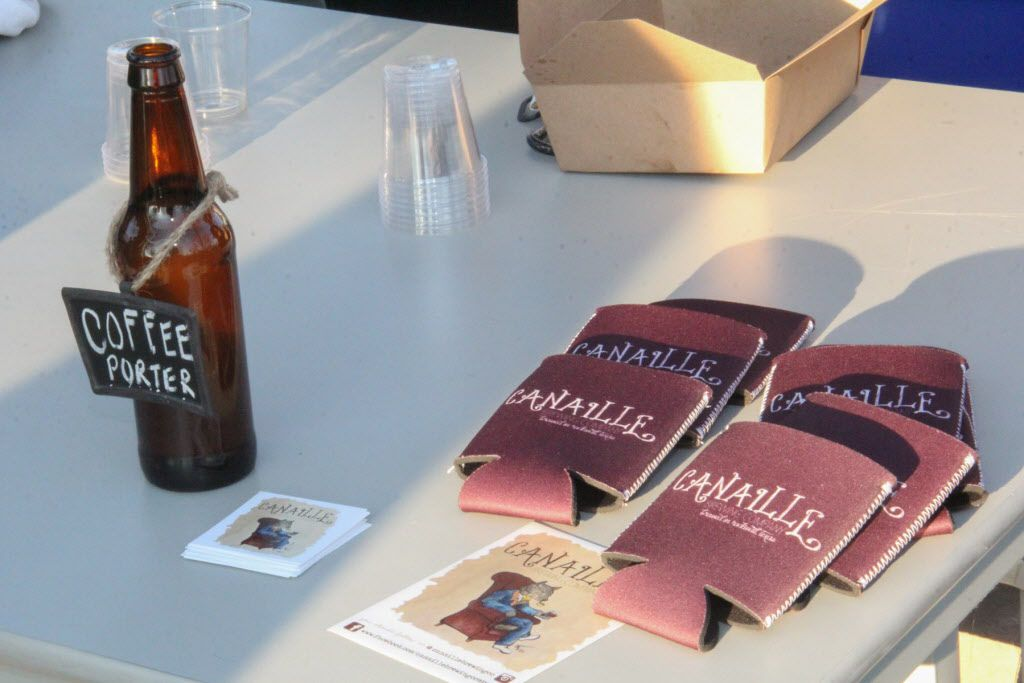 Canaille Brewing Company brews were available at Luckapalooza in Trinity Groves on March 22, 2015.