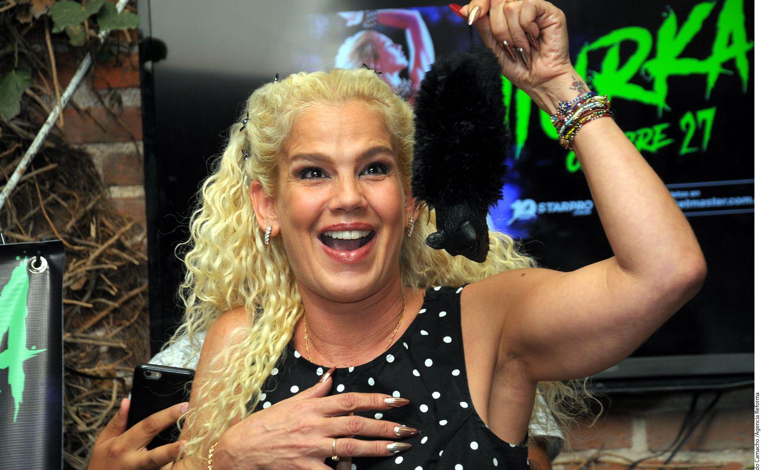 La cubana Niurka cree que la hermana de Thalía, Laura Zapata, es más vulgar que ella por todo lo que ha dicho en los últimos días. /AGENCIA REFORMA