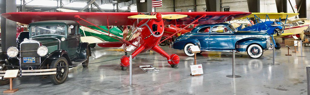 The Western Antique Aeroplane & Automobile Museum boasts more than 320 vintage planes and cars.