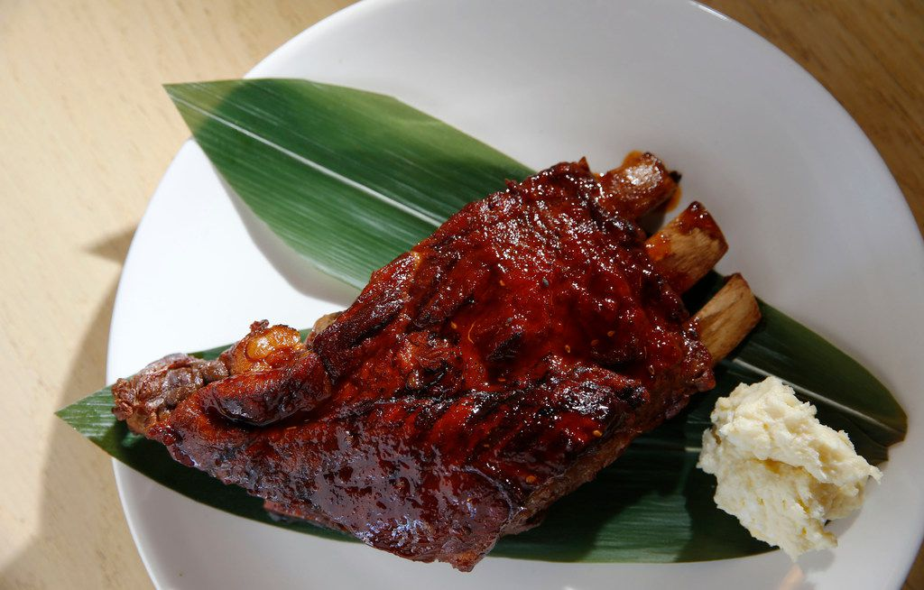 Tatsujin pork ribs, a new addition to Ichigoh's izakaya menu