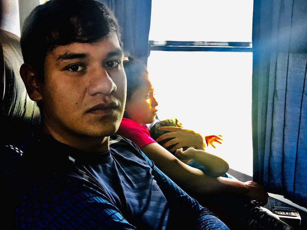 "Adan Flores, 22, travels the region of Juan Aldama, Zacatecas where he works with people traumatized by recent crime wave. ""We thought political change would automatically usher in a new country, but that hasn't been the case so far. Many people are leaving,"" he says."
