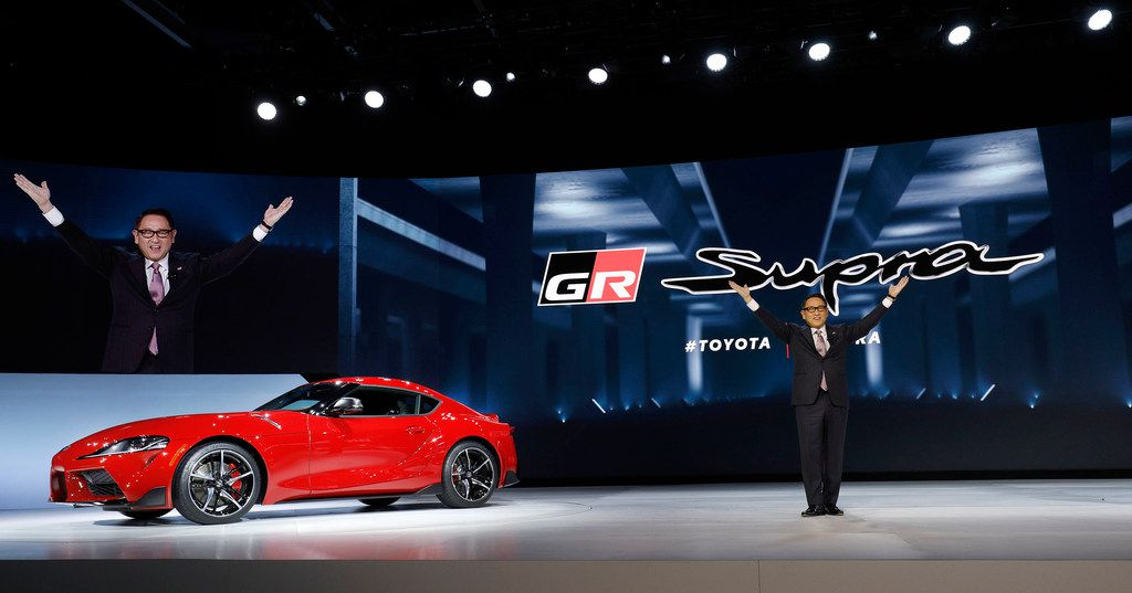 It's the first time Toyota has made and sold a new Supra in the U.S. in 21 years.