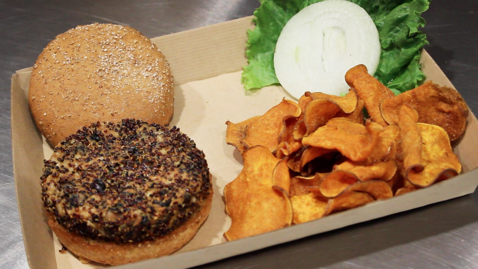 Twisted Root now serves a vegan burger.
