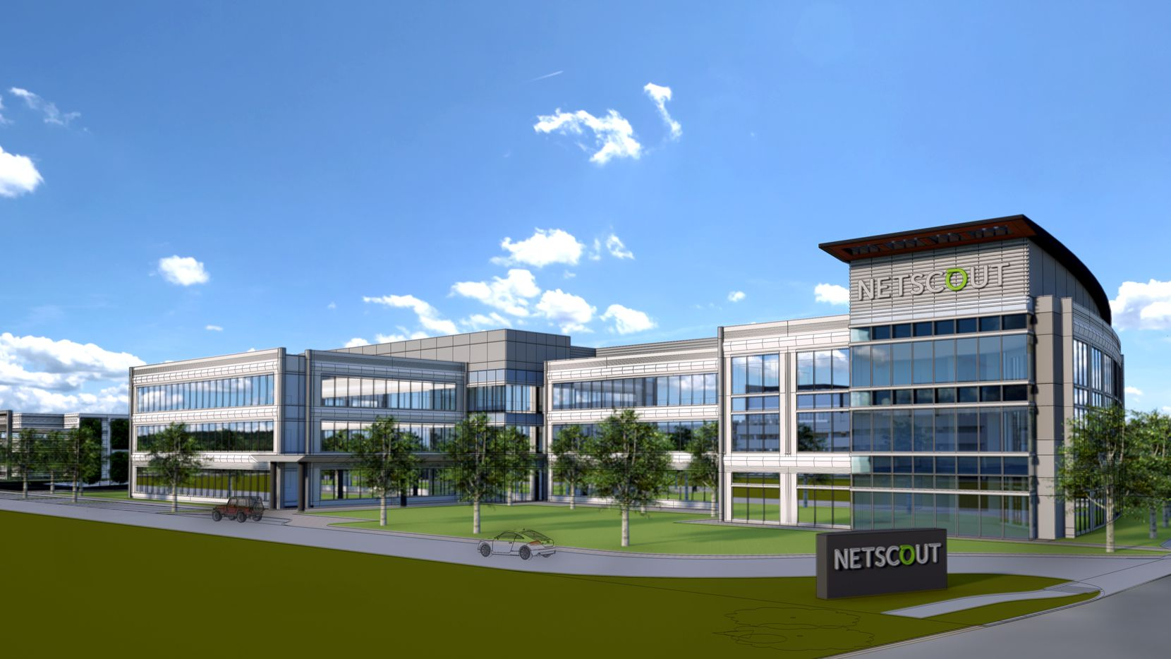 NetScout will move from Plano to a three-story office campus to be built in Allen.
